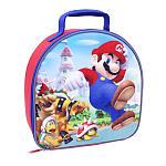 Nitendo Super Mario Bros. Insulated Lunch Kit - Red and Blue