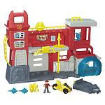 Playskool Heroes Transformers Rescue Bots Griffin Rock Firehouse Headquarters Playset