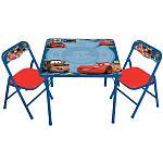 Disney Pixar Cars 2 Erasable Activity Table and Chairs (Colors/Styles Vary)