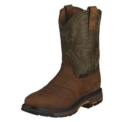 Ariat Men's 10 in. Workhog Pull-on Work Boot