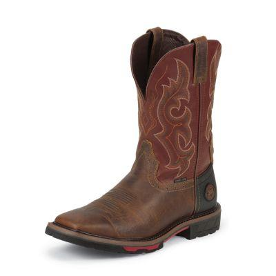 Justin Men's 11 in. Composition Toe Hybred Collection Boot