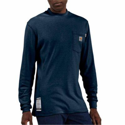 Carhartt Men's Flame Resistant Traditional Long Sleeve T-Shirt