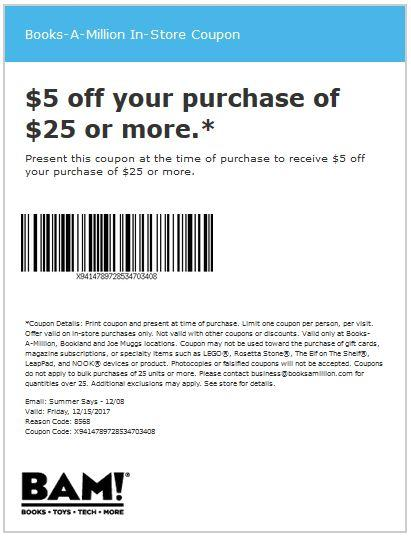 Save $5 On Your Purchase