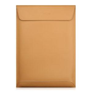 Soft UltraThin Genuine Leather Laptop  Sleeve