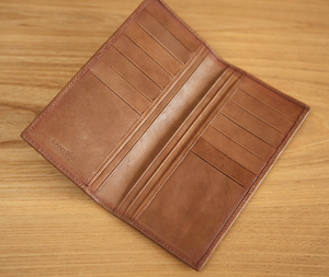 Genuine Leather Ultra Thin Tall Design Wallet