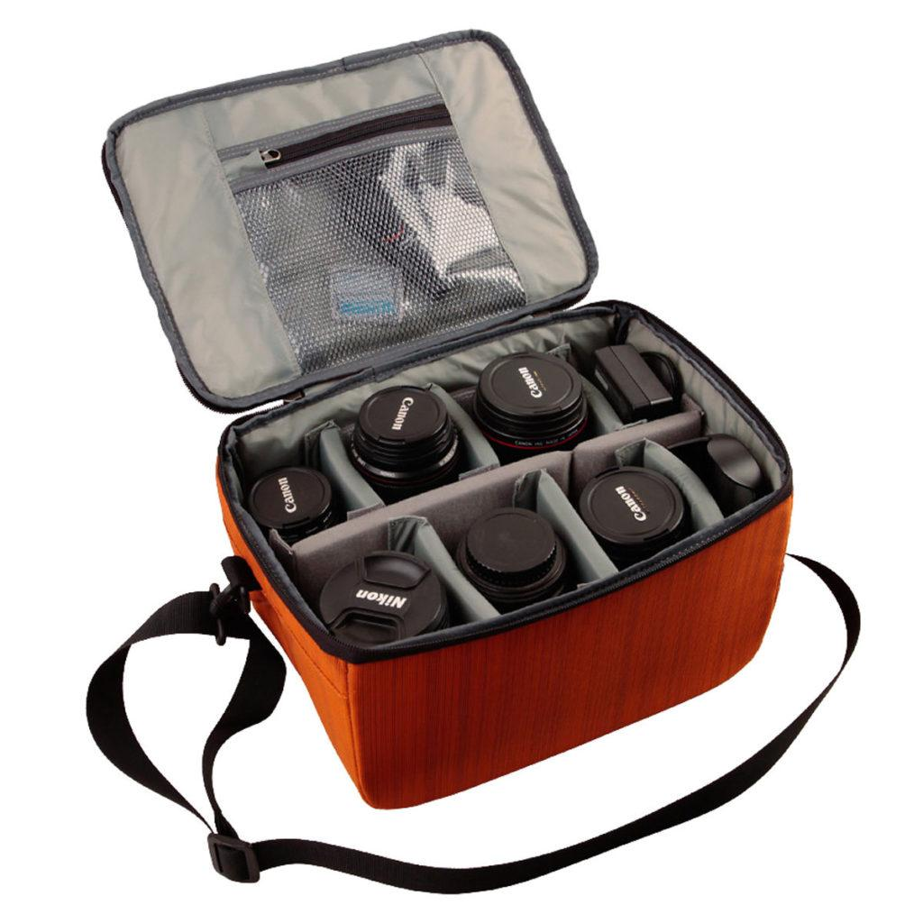 Partition Camera Padded Bag