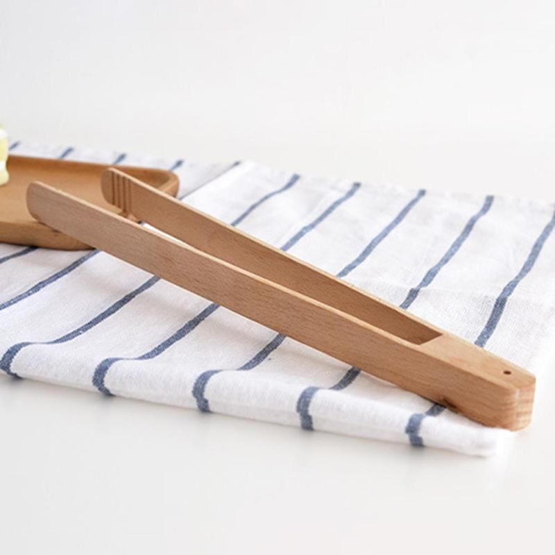 Handmade Kitchen Wooden Pastry Tongs