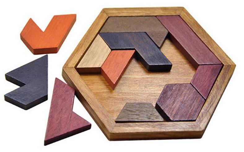 Wooden Educational Kids Toys Puzzle