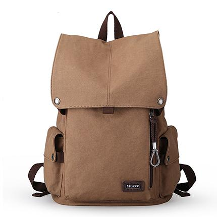 2017 High Capacity Muzee New Male Canvas Backpack