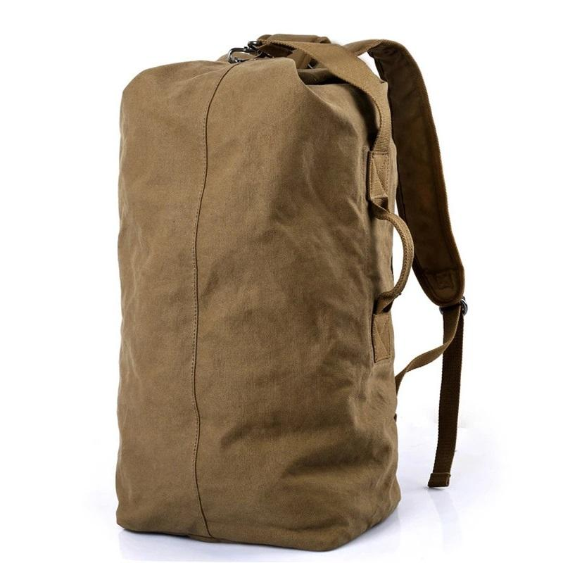 DB26 Pure Cotton Canvas Backpack