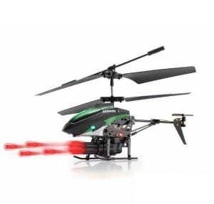 WLToys V398 3.5CH RC Missile Launch Remote Control Helicopter