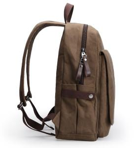 Double Shoulder Canvas Laptop Bag