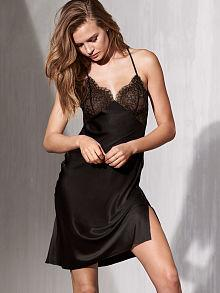 Very Sexy Lace & Satin Slip - 2 Colors