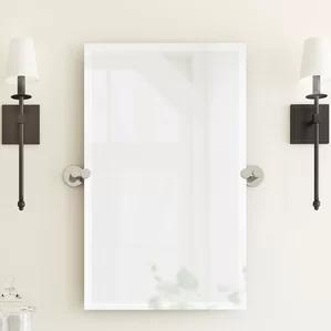 Channel Rectangle Mirror by Gatco