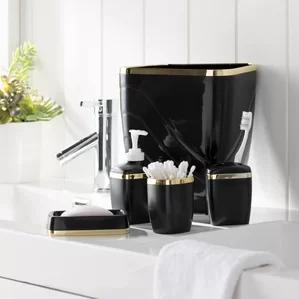 Wayfair Basics 5 Piece Bathroom Accessory Set by Wayfair Basics™