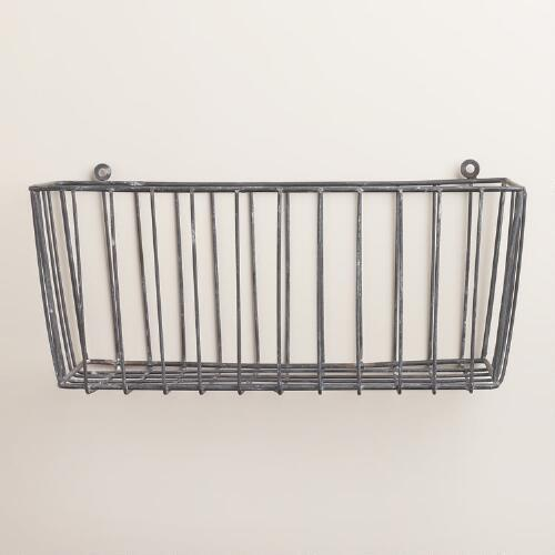 Galvanized Ashton Basket
