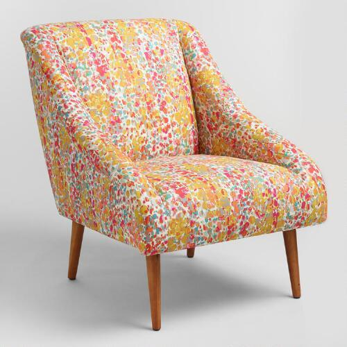 Multicolor Upholstered Seraphina Chair