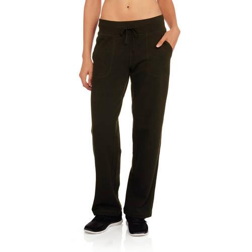 Athletic Works Women's French Terry Athletic Pants--Available in Regular and Petite Lengths
