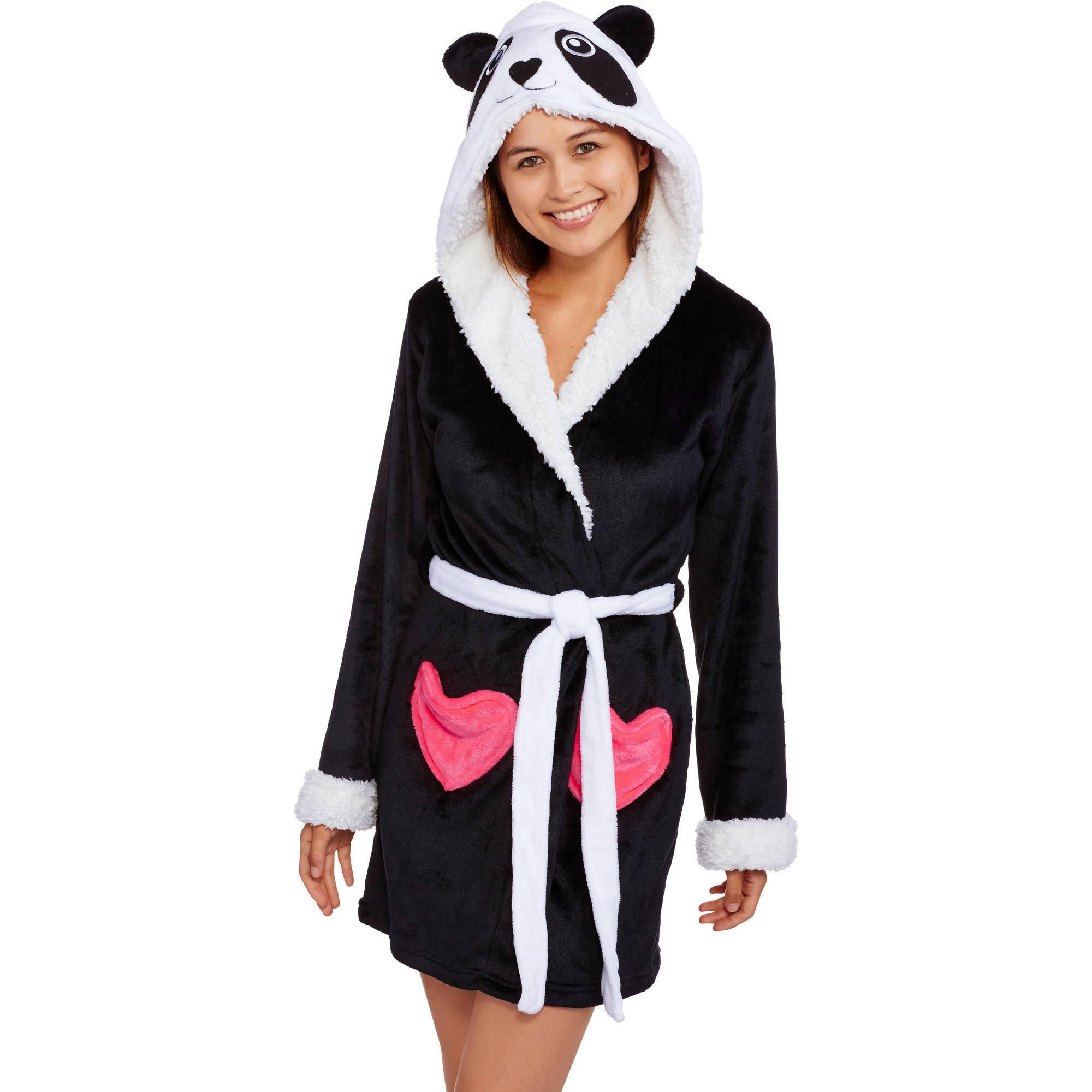 Body Candy Huggable Luxe Critter Sleepwear Robe