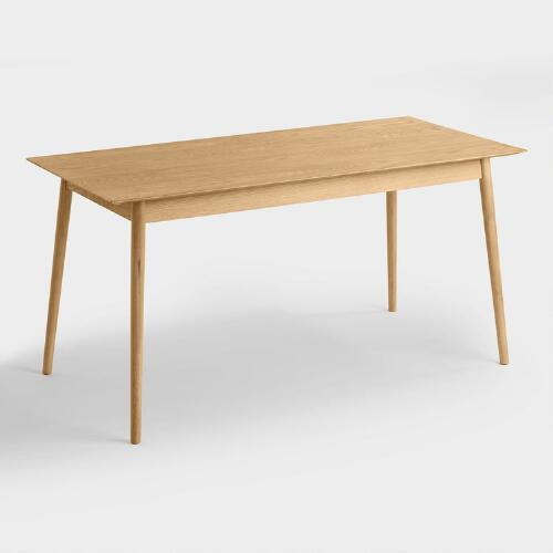Wood Liam Fixed Dining Table