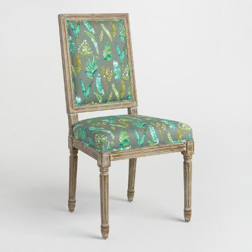 Fern Paige Square Back Dining Chairs Set of 2