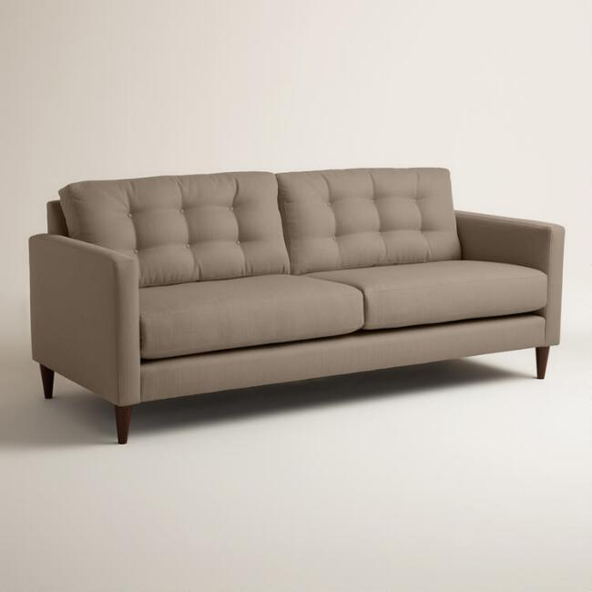 Textured Woven Ryker Upholstered Sofa Join World Market Explorer. get 15% off your first purchase! Join World Market Explorer. Get 15% off your first purchase! Account Support Account Support