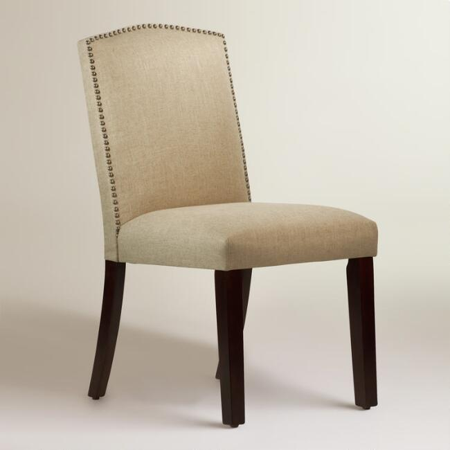 Linen Abbie Upholstered Dining Chair Join World Market Explorer. get 15% off your first purchase! Join World Market Explorer. Get 15% off your first purchase! Account Support Account Support