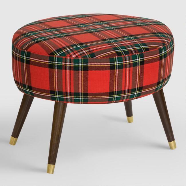 Oval Ancient Stewart Plaid Upholstered Ottoman Join World Market Explorer. get 15% off your first purchase! Join World Market Explorer. Get 15% off your first purchase! Account Support Account Support