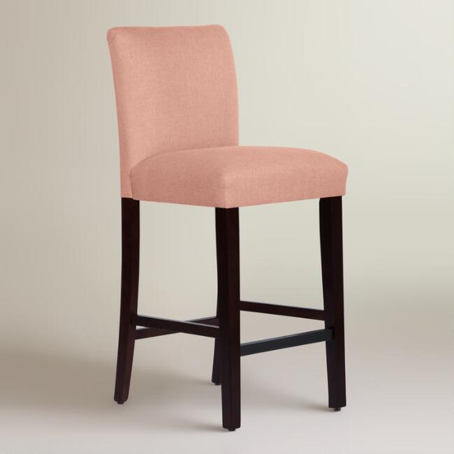 Linen Kerri Upholstered Barstool Join World Market Explorer. get 15% off your first purchase! Join World Market Explorer. Get 15% off your first purchase! Account Support Account Support