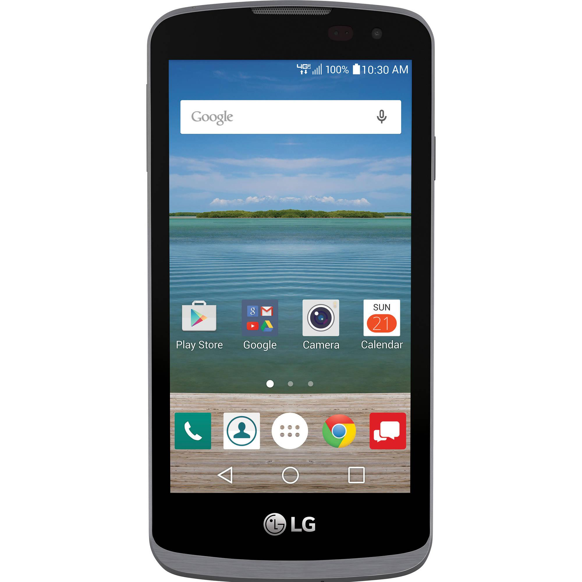 Verizon Wireless LG Optimus Zone 3 8GB Prepaid Smartphone, Black