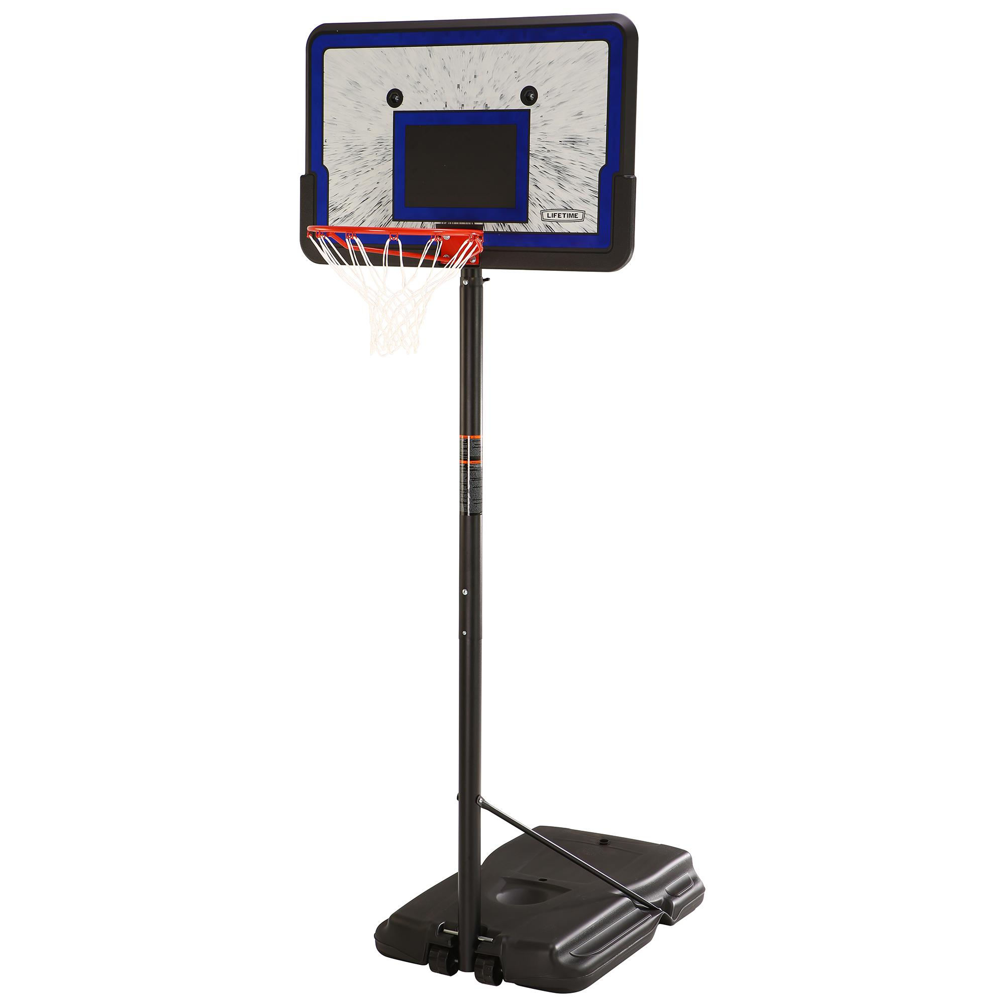 Lifetime 44 Portable Adjustable Height Basketball System, 1221