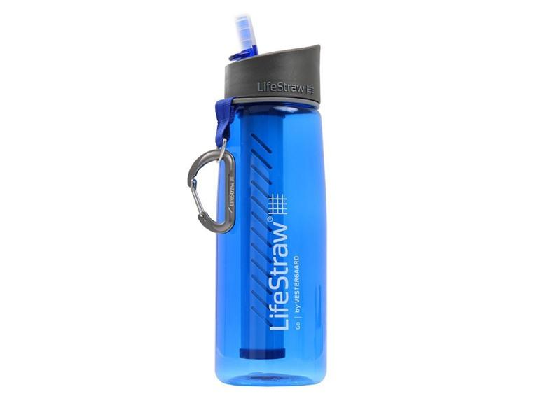 Go Bottle with 2-Stage Filtration