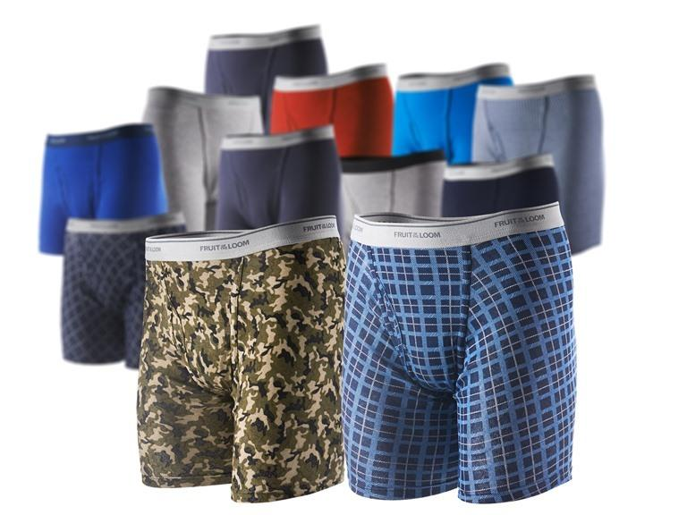 Fruit of the Loom 12-Pack Boxer Briefs