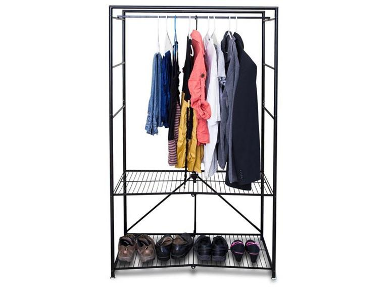Origami Folding Closet System with Cover